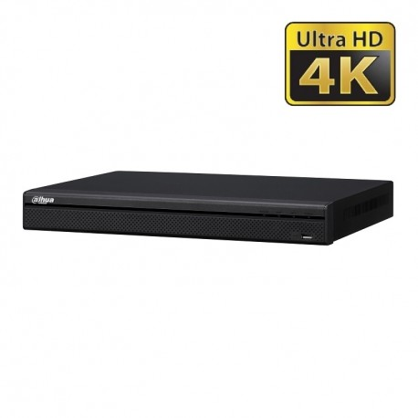 DAHUA NVR4216-16P-4KS2 Δικτυακό Καταγραφικό 16 IP POE