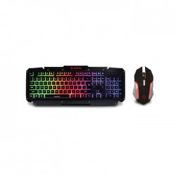 Keyboard & Mouse Metalic Zeroground KB-1700GUMS ARAI