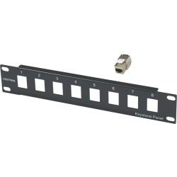 "Central Πρόσοψη-Modular Patch Panel 10"" (SOHO) 2500235021/c"