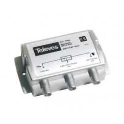 TELEVES TV-SAT(dc) Mixer/Diplexer