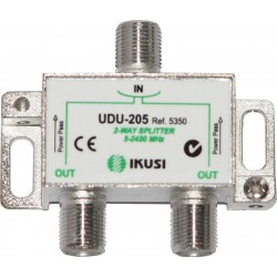 IKUSI 2-ways splitter UDU-205