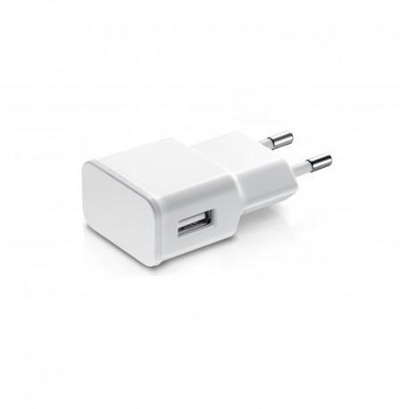 USB Wall Adapter Λευκό 5V 2A (14858) Bulk